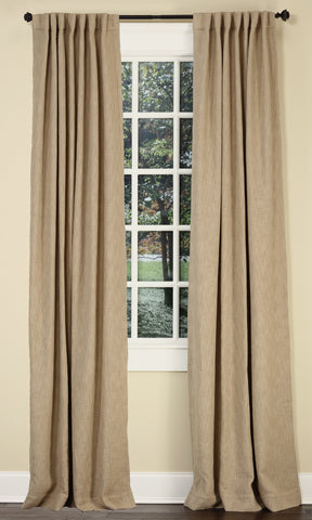 Stately Window Treatments Emdee Drapery Boucle Flax 12013