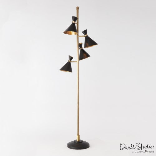 Global Views Cone Lamp Multi D9.90066