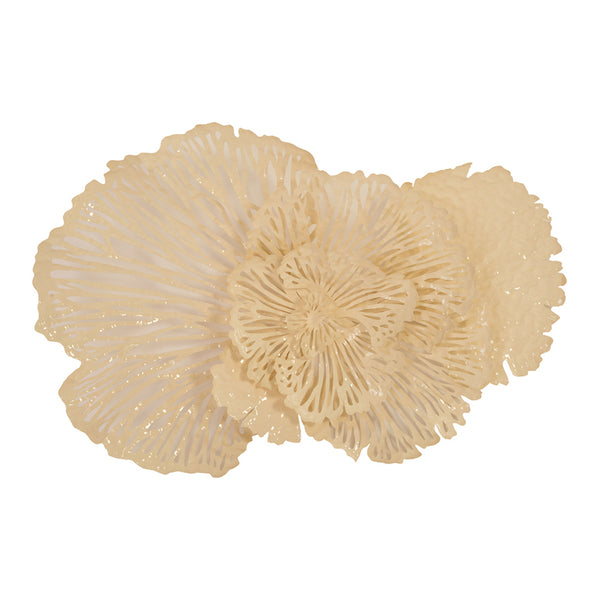 Phillips Collection Flower Wall Art, Ivory, MD Off White TH83084