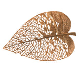 Phillips Collection Birch Leaf Wall Art, Copper, MD Amber TH85853