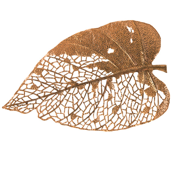 Phillips Collection Birch Leaf Wall Art, Copper, LG Amber TH85854