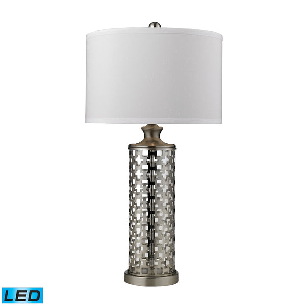 Crown Lighting Dimond Collection Medford LED Table Lamp in Brushed Nickel - D2313-LED