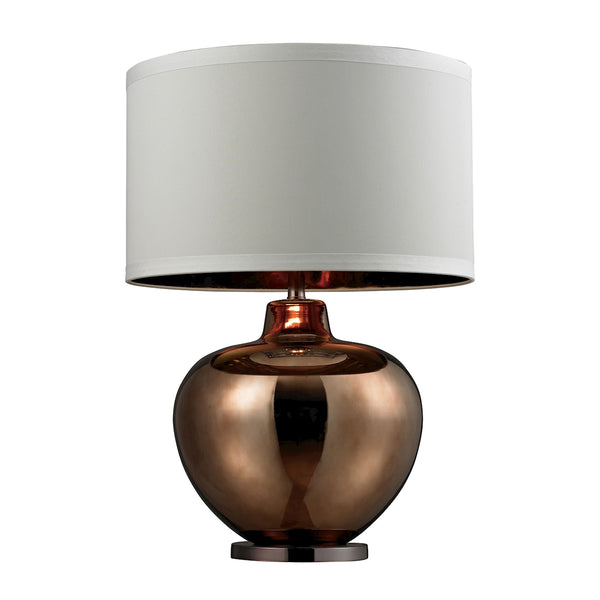 Crown Lighting Dimond Collection Oversized Blown Glass Table Lamp in Bronze Plated Finish - D273