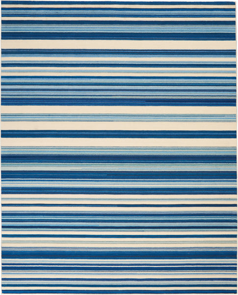 Nourison Barclay Butera Ocean Area Rug - 8' x 10' Rectangle Ocean Rug - BB203 - 99446147189