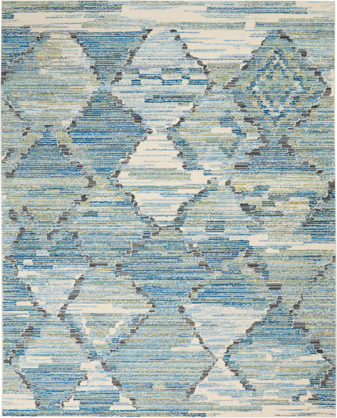 Nourison Barclay Butera Storm Area Rug - 8' x 10' Rectangle Storm Rug - BB202 - 99446147165