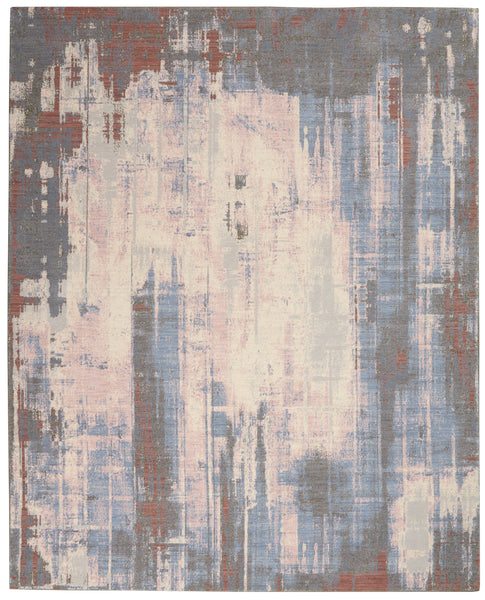 Nourison Artworks ATW04 Multicolor 8'x10'   Rug - 8' x 10' Rectangle Multicolor Rug - ATW04 - 99446709097