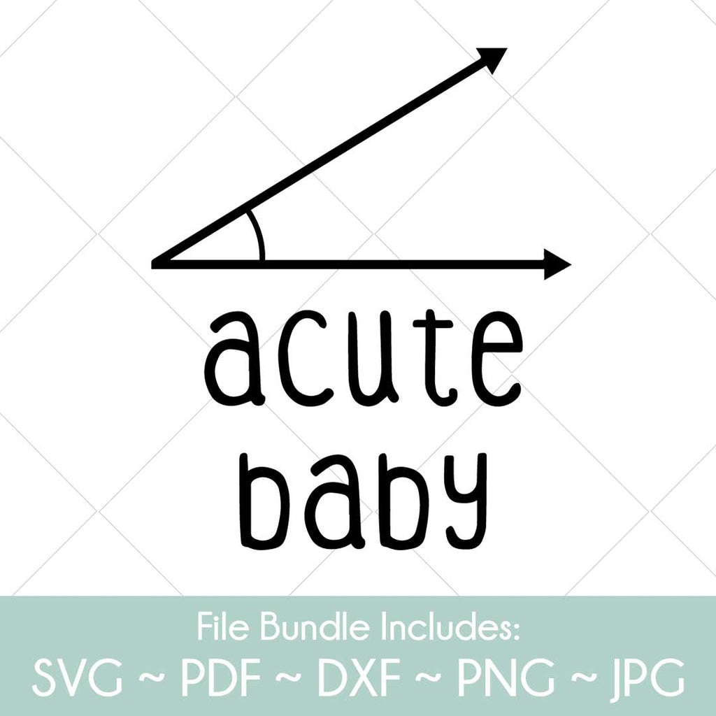 Acute Baby - SVG Cut File Bundle