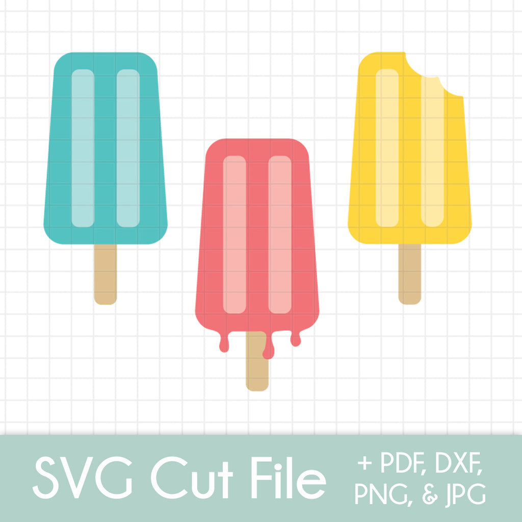 Popsicles (3 pack) - SVG Cut File Bundle