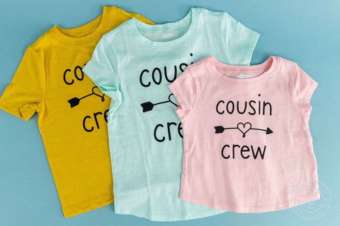 Cousin Crew - SVG Cut File Bundle