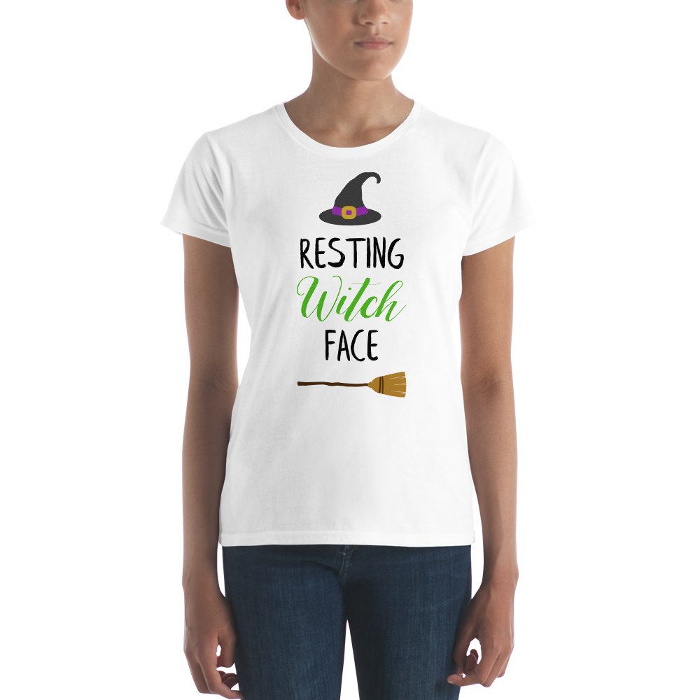 Resting Witch Face - Women's short sleeve t-shirt