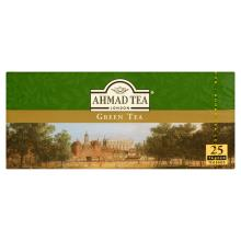 Ahmed Tea London Green Tea 25 Tea Bag Pack