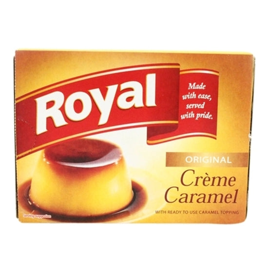 Cream Caramel Royal