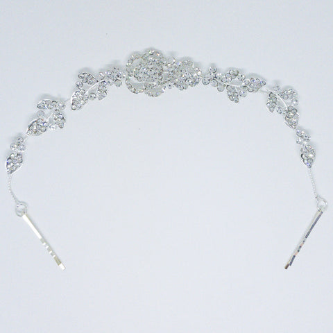 Weddings Hair Accessory Silver - Design #9 - MarkeetEx