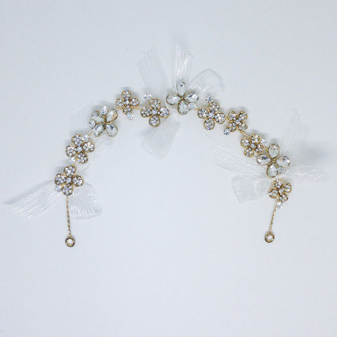 Weddings Hair Accessory Gold - Design #5