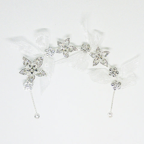 Weddings Hair Accessory Silver - Design #8 - MarkeetEx