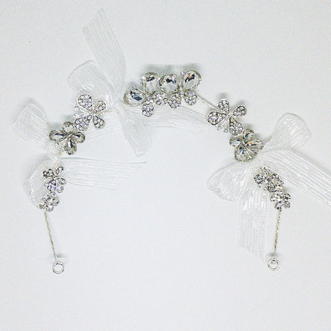 Weddings Hair Accessory Silver - Design #6 - MarkeetEx
