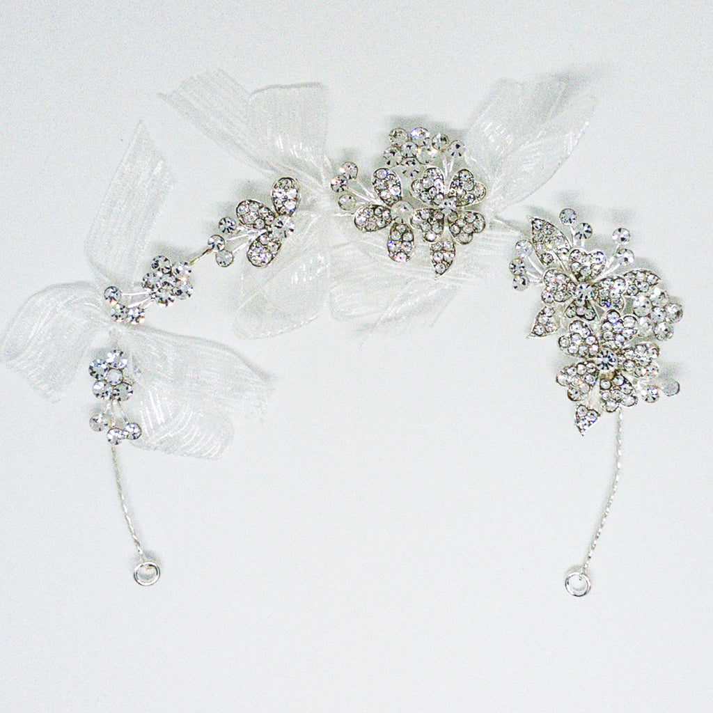 Weddings Hair Accessory Silver- Design #1