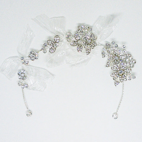 Weddings Hair Accessory Silver- Design #1 - MarkeetEx