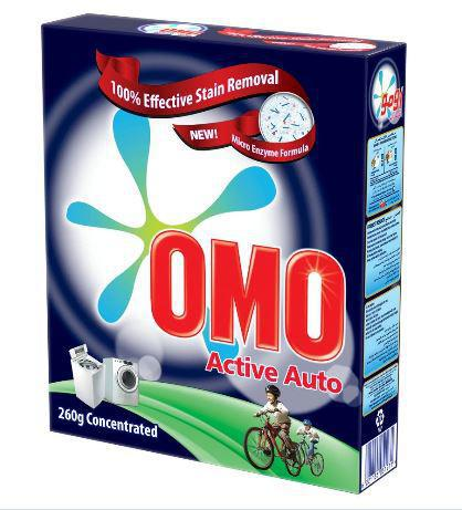 OMO Washing Powder Active Auto 260gm Concentrated-37-C