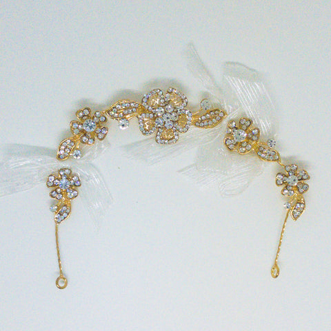 Weddings Hair Accessory Gold - Design #3
