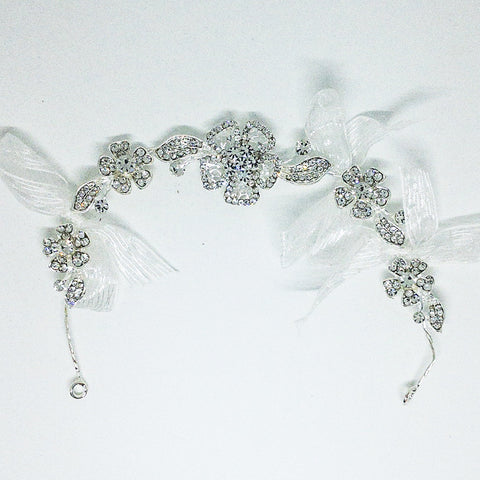 Weddings Hair Accessory Silver - Design #7 - MarkeetEx