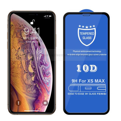 Curve Glass Screen Protector 10D 9H IOS-Xs Max