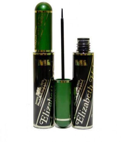 Elizabeth Helen Liquid Eyeliner- Black, 10 ml - كحل محمود سعيد سائل شديد السواد