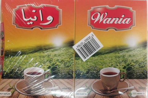 Wania Loose Black Tea 350gm X 2Pcs Pack - MarkeetEx