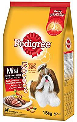 Beef, Lamb & Vegetable Pedigree 1.5kg-  لحم خروف و خضروات بيداجري