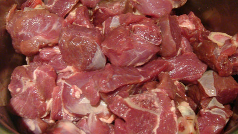 Fresh Indian Mutton W/Bone 1/2 kg - MarkeetEx