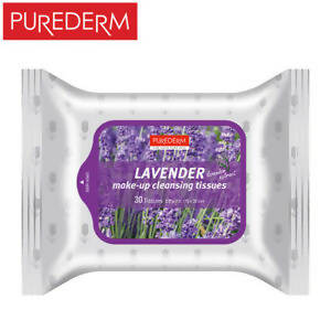 Make-up cleansing tissue (Lavender) 30 pcs