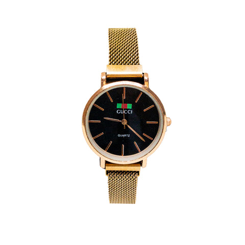 Gucci Watch Rose Gold with Magnit Band - Replica