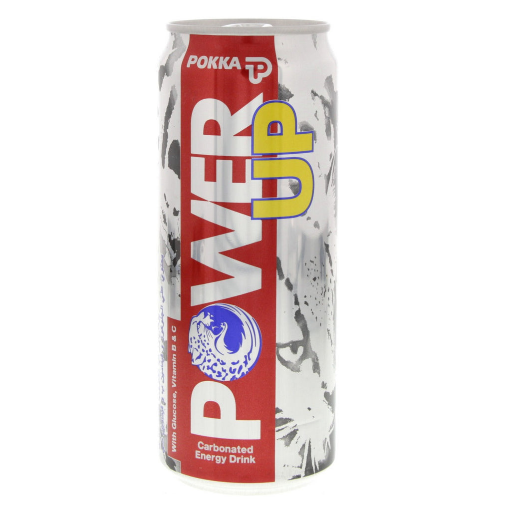 POKKA POWER UP CARBONATED ENERGY DRINK 325ML - MarkeetEx