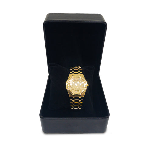 Audemars Piguet Royal Oak Diamond & Gold Watch - Replica