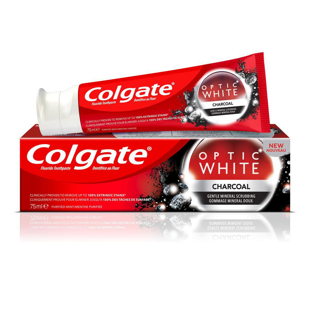 Colgate Optic White Charcoal - 75ml
