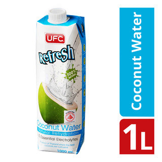 UFC Refresh 100% Coconut Water 1 Ltr - MarkeetEx