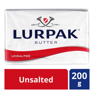 Butter Stick Lurpak Unsalted- زبدة غير مملحة لورباك