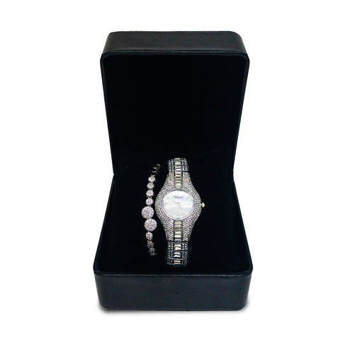 Diamond Chopard Replica Watch With Braclet - MarkeetEx