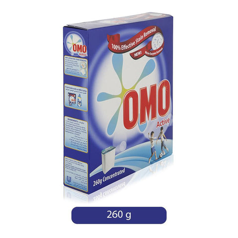 OMO Washing Powder Active 260gm Concentrated-37-C