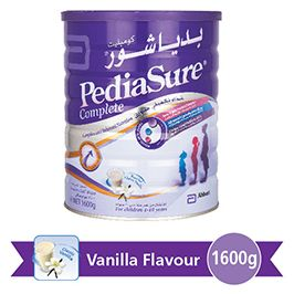 Pediasure Complete Vanilla Milk Powder 1+ - بدياشور كومبليت فانيليا