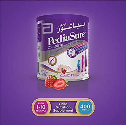 Pediasure Complete Strawberry Formula Milk 1-10 years- 400g