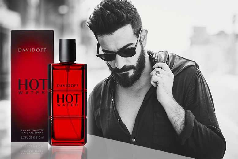 DAVIDOFF HOT WATER 110ML EDT (M)