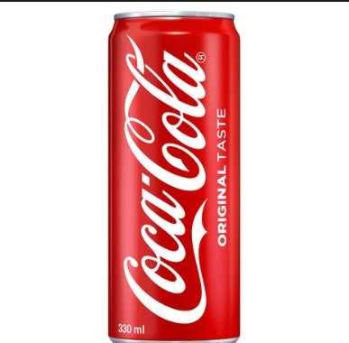 Coca-Cola Regular 330ml - MarkeetEx