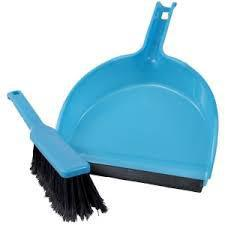 ART - Dustpan with Brush - Assorted Colour - MarkeetEx