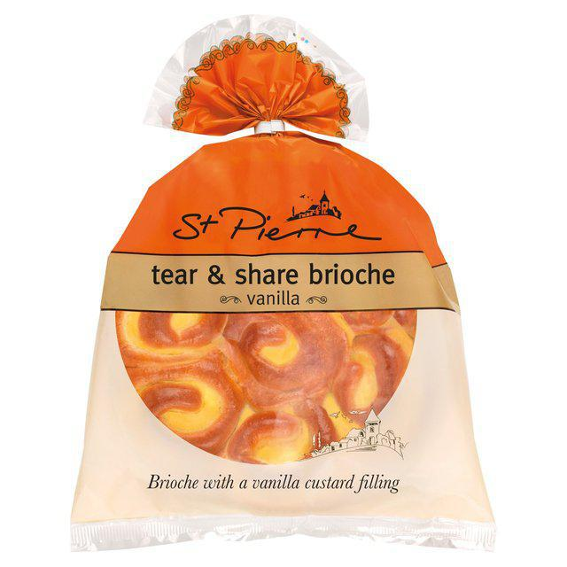 ST PIERRE TEAR & SHARE BRIOCHE WITH A VANILLA CUSTARD FILLING 500GRM - MarkeetEx