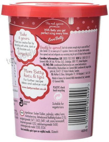 Betty Crocker Tempting Chocolate Flavour Icing 400gm - MarkeetEx