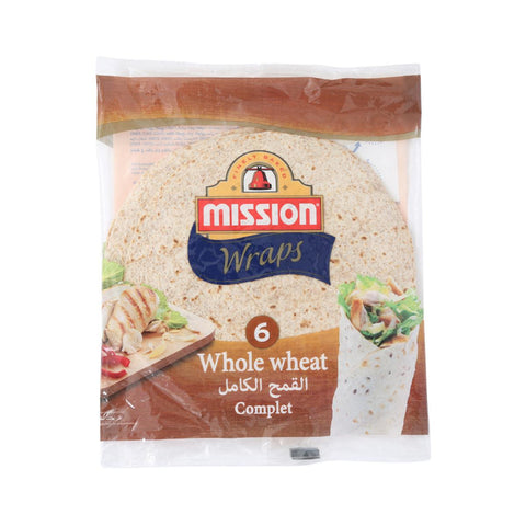 Mission Tortilla Wrap Whole Wheat 420g