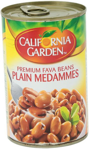 Broad Beans Plain Medammes California Garden 450 gm