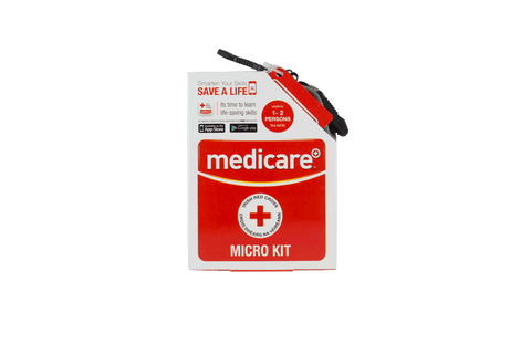 MEDICARE MICRO FIRST AID KIT WITH CARRYING CASE