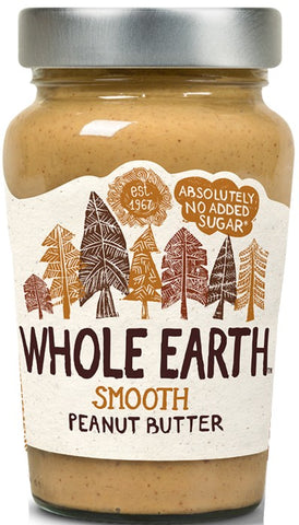 Whole Earth Smooth Peanut Butter 340G - MarkeetEx